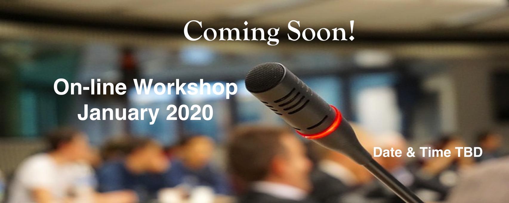 DWW Online workshop slide